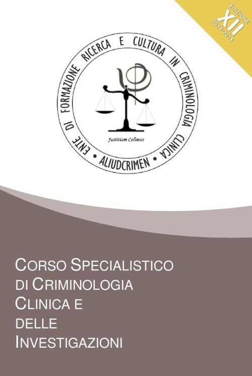 Tabloid Corso Criminologia New