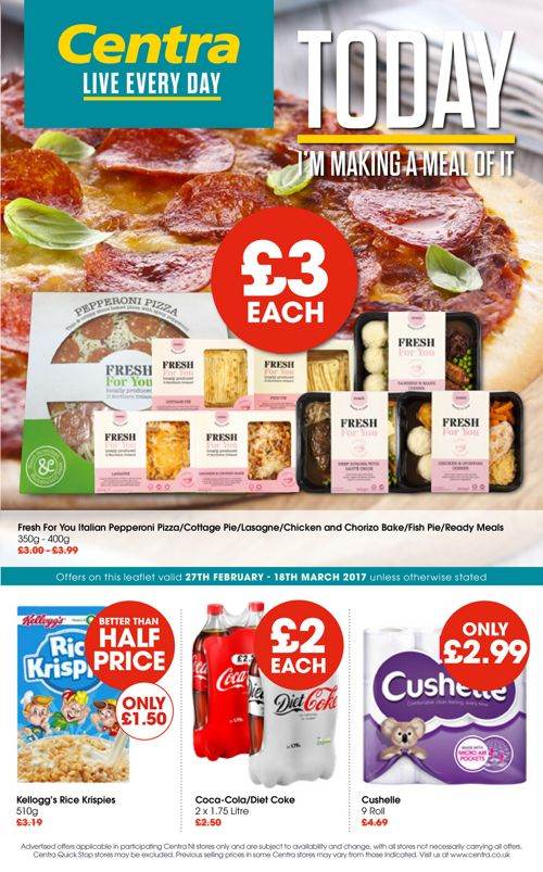 Centra Offers Feb 2017