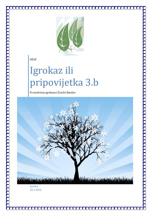 Igrokazi 3.b