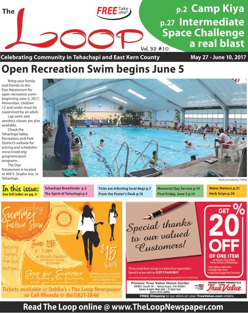 The Loop Newspaper Vol 32 No 10 - May 27 to June 10, 2017