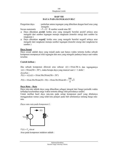 RLC-rangkaian listrik