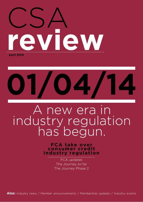 CSA review April 2014