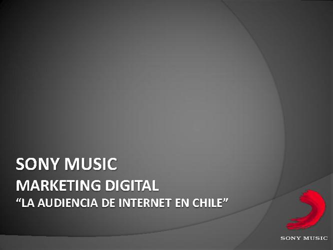 La Audiencia de Internet en Chile