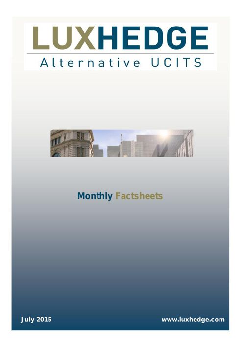 monthly factsheet july 2015