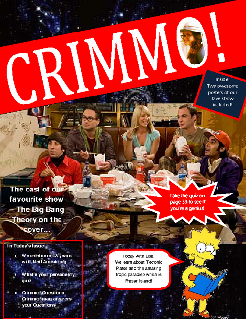 CRIMMO! Magazine
