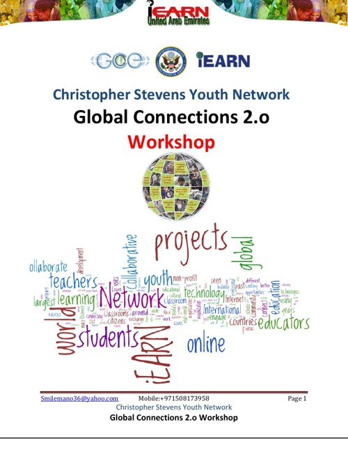 The Global Connections and Exchange (GCE) Program-workshop-UAE