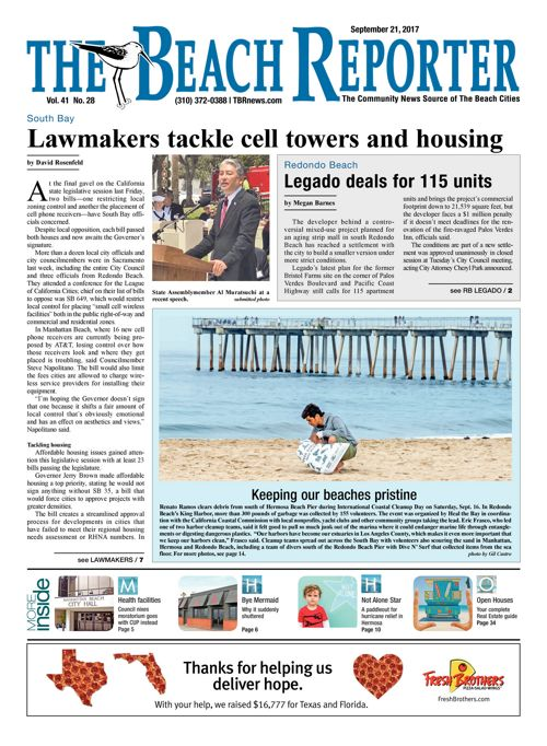 The Beach Reporter - September 21, 2017