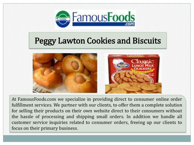 Peggy Lawton Cookies and Biscuits