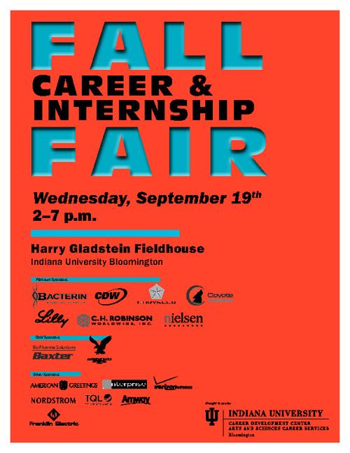 IU Fall Career & Internship Fair