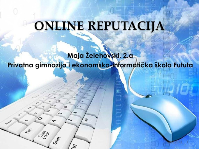 Online reputacija by Maja Z