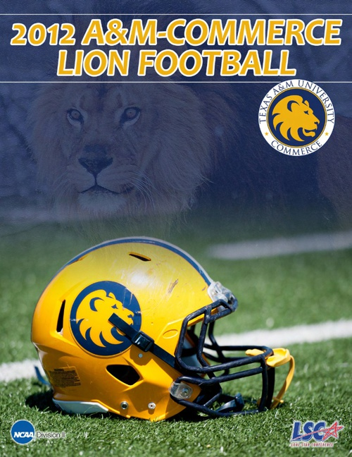 2012 A&M-Commerce Football Yearbook