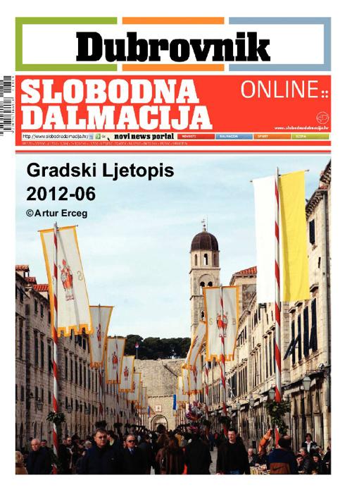 Gradski Ljetopis DU-2012-06 /'32.izdanje SD' / ideja © ž.er©eg