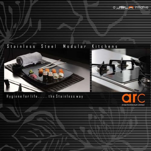 Stainless Steel Arc Modular Systems by Arttdinox
