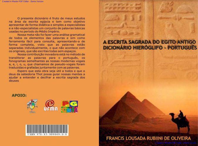 - A escrita sagrada do Egito antigo -
