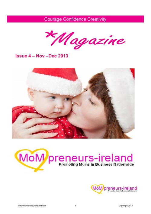 Mompreneursireland E-Magazine Christmas Issue