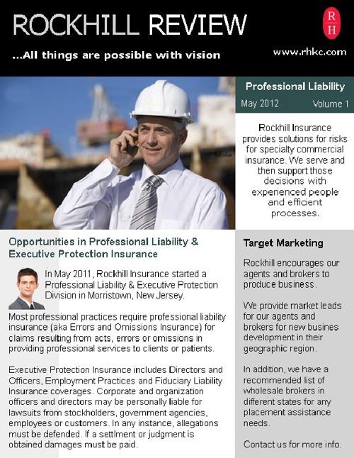 Rockhill Insurance - PL-1