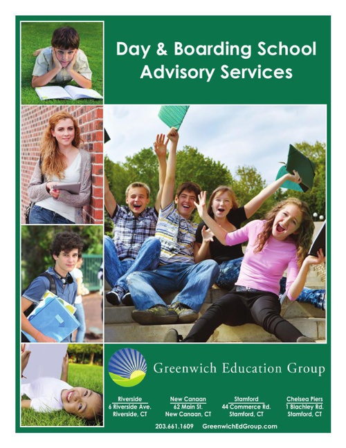 Day & Boarding School Advisory Services Brochure
