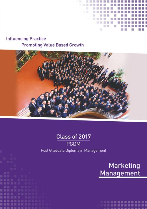 SPJIMR PGDM Marketing Batch Profile 2015-17