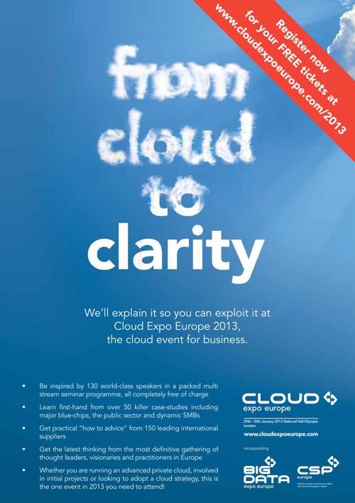 Cloud Computing Expo 2013