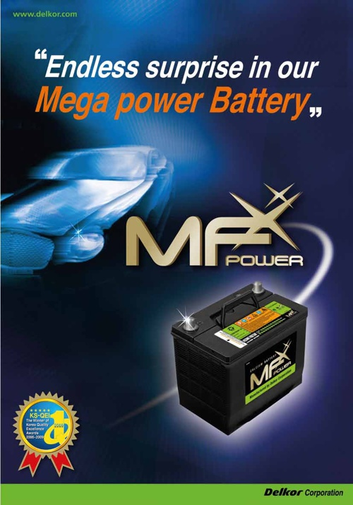 MF Power SMF Batteries
