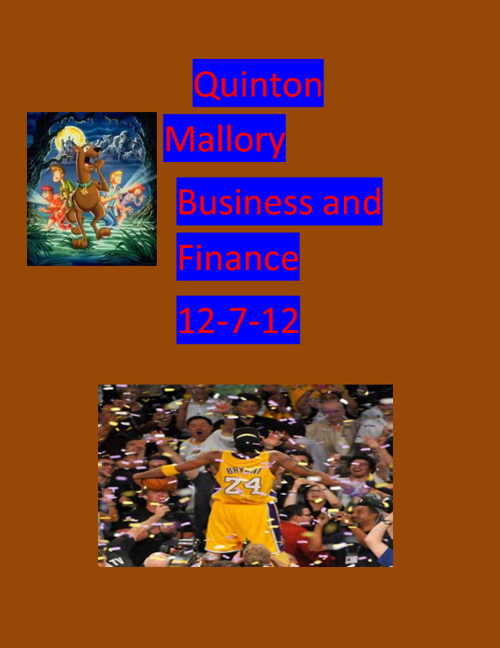 Quinton Mallory Budget and Finance