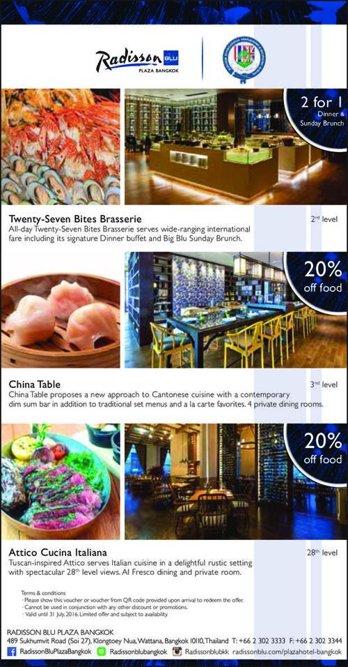 Voucher for Bangkok Prep