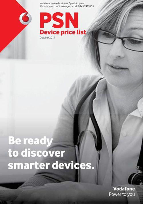 Vodafone PSD Device List - singleFIX