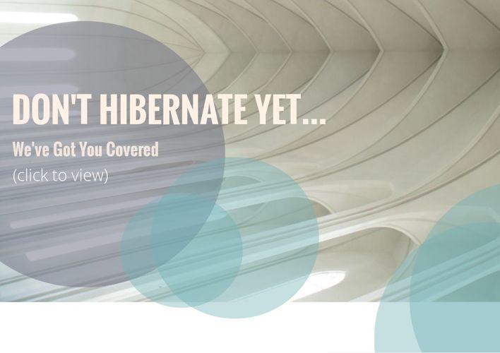 Don't Hibernate