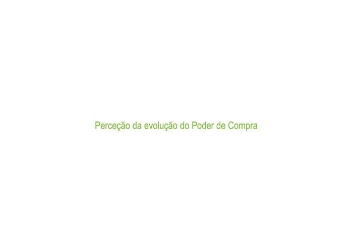 Um em cada três portugueses diz ter perdido poder de compra