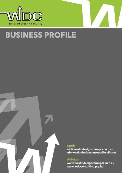Wealth Design Concepts WDC Consulting Pty Ltd Company Profile
