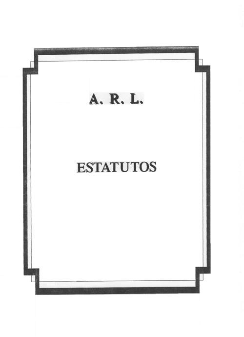 ESTATUTOS ARL