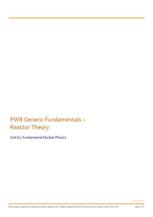 1_E1_Fundamental Nuclear Physics