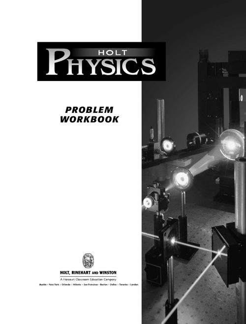 26978901-Holt-Physics-Problem-Workbook-with-Answers