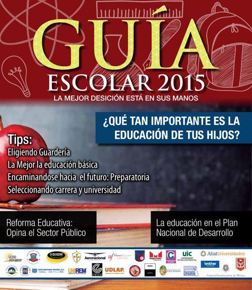 Guía Escolar 2015 ok
