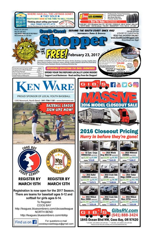 South Coast Shopper e-Edition 2-23-17