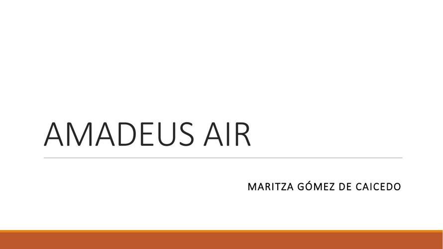 AMADEUS AIR
