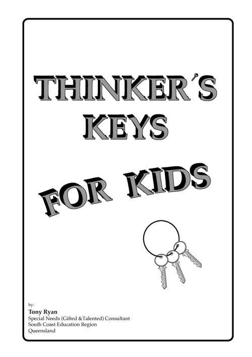 Thinker's Keys for Kids