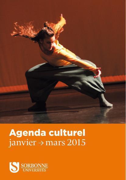 Agenda-Janvier Mars 2015