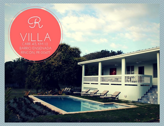 R Villa Guide Book