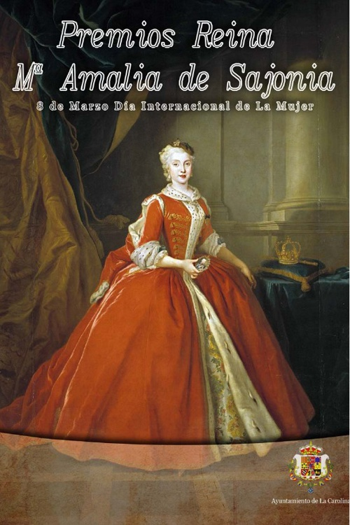 Folleto III Premios Reina Mª Amalia de Sajonia