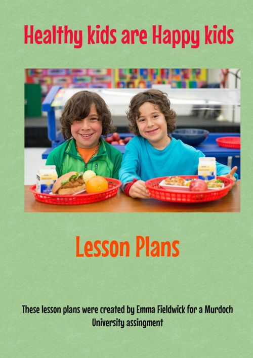 Health Food Lesson Plans