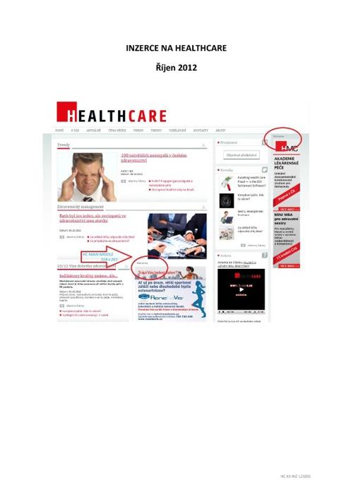 HEALTHCARE - MediaKit 121001