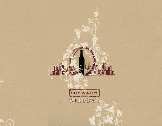 City Winery Weddings Brochure
