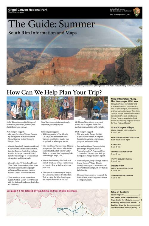South Rim Newspaper