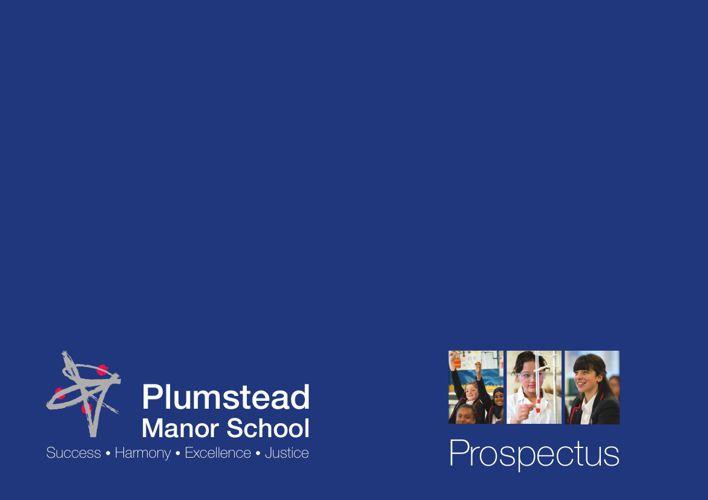 Plumstead Manor School Prospectus