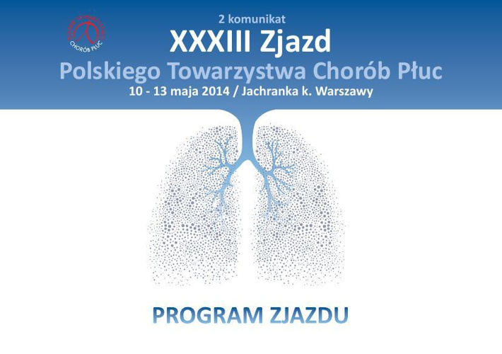 Program 33 Zjazdu PTChP