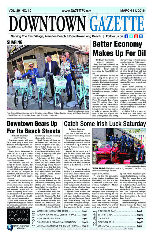 Downtown Gazette  |  March 11, 2016