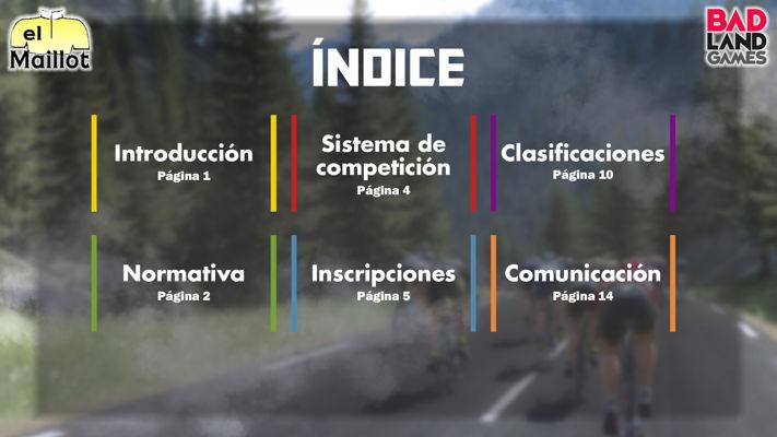 Libro de Reglas - Liga PCM El Maillot