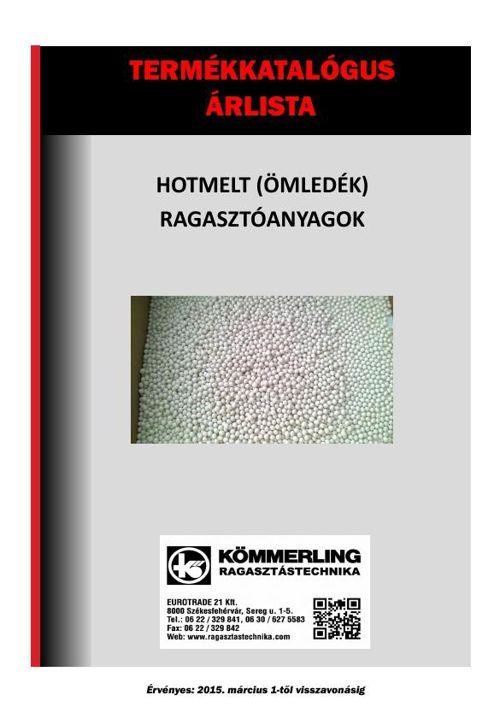 Hotmelt ragasztók termékkatalógus és árlista