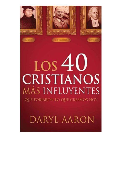 Los 40 cristianos mas influyentes